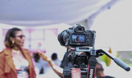 Интервью: куда смотреть во время съёмки