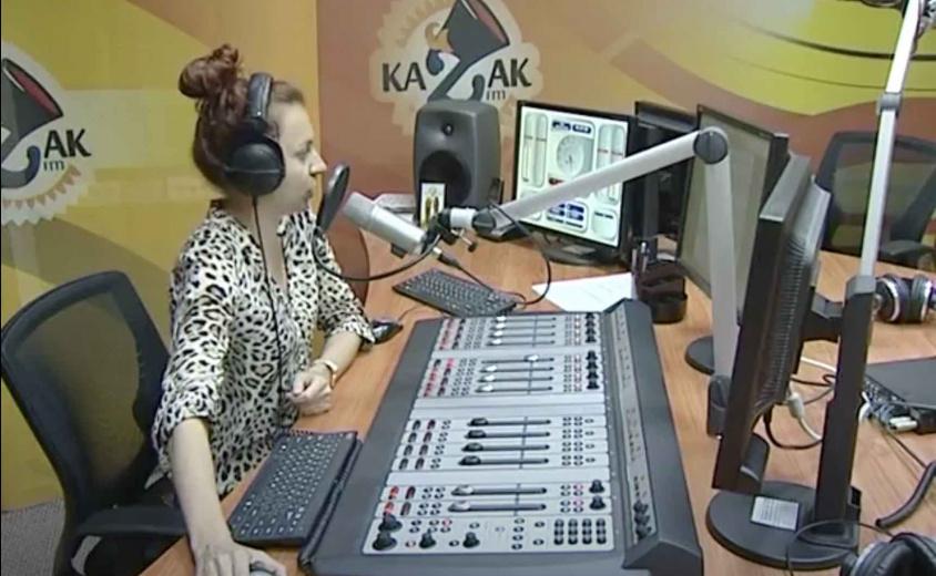 Презентационный фильм о радиостанции KAZAK FM