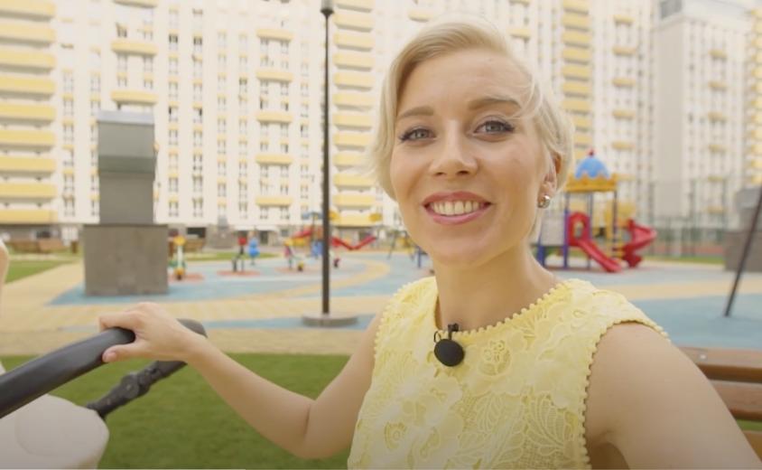 Рекламный ролик жилого комплекса в формате блога