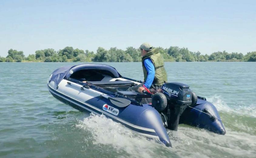 Презентация лодки Max компании Marlin Motors