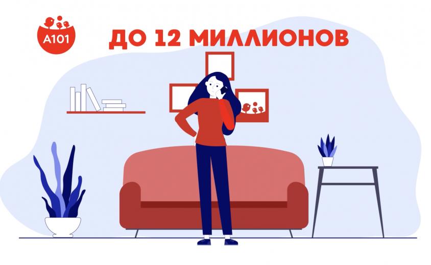 """Анимационный рекламный ролик федерального застройщика """"A101"""""""