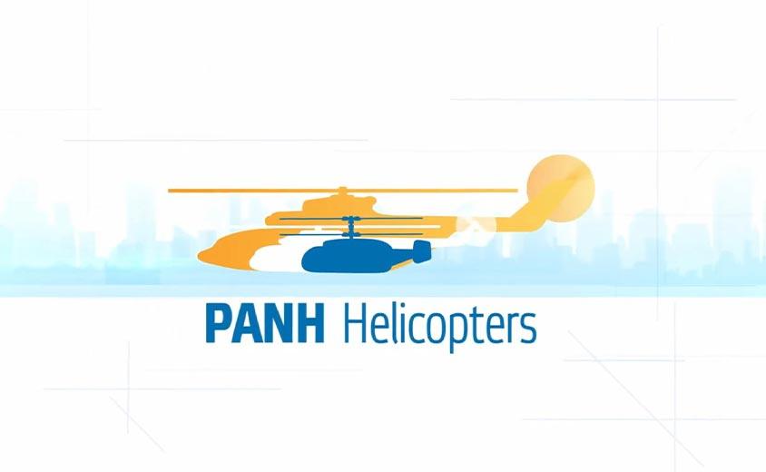Графическая анимация 2D логотипа ПАНХ