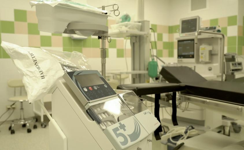 Видеогид по частному родильному дому (операционная)