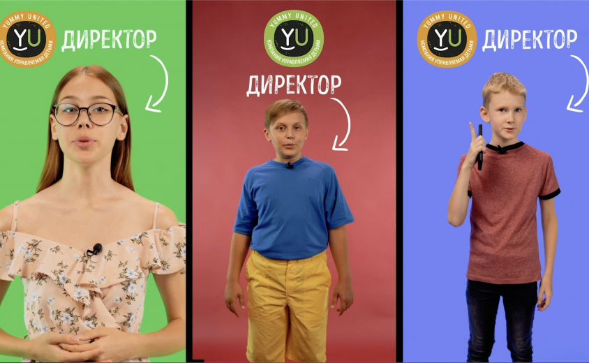 Ролики для социальных сетей компании YUMMY UNITED