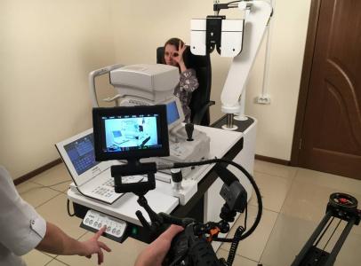 Для рекламного ролика необходимо было снять несколько ключевых диагностических аппаратов