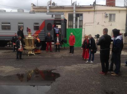 Часть съемок проходила в Новороссийске, в депо РЖД