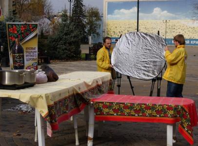 Непременным условием телепроекта было размещение съемочной точки в центре Краснодара