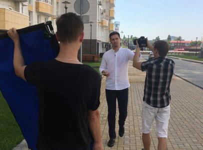 В рекламных видеообзорах снимались в качестве героев в том числе и медийные лица Краснодара