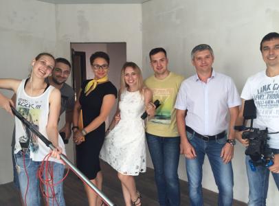 Съемочная команда и актеры рекламного сериала