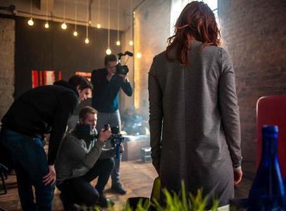 """Съемки проходили в одном из лофтов Краснодара. Там снимались """"домашние"""" эпизоды - квартира героини"""