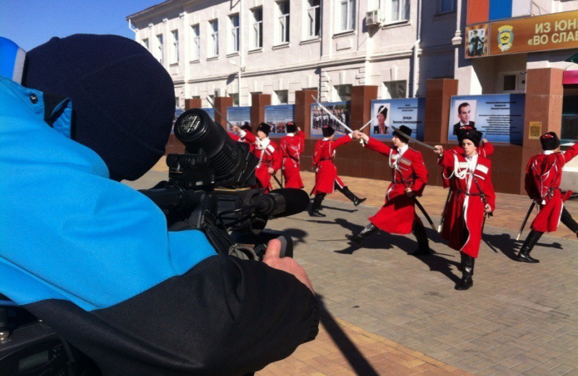 Съемки для проекта «Большая страна» канала ОТР