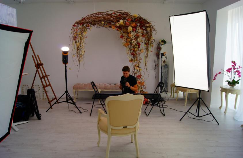 Бэкстейдж съемок ролика для ЖК «Вивальди»