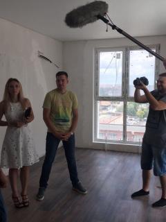 Backstage мини-сериала «Дом среди ясного неба» для ЖК «Большой»