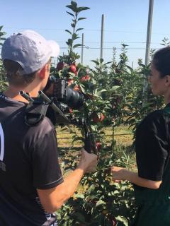 Съемки корпоративного видео агропредприятия «Черкесские сады»