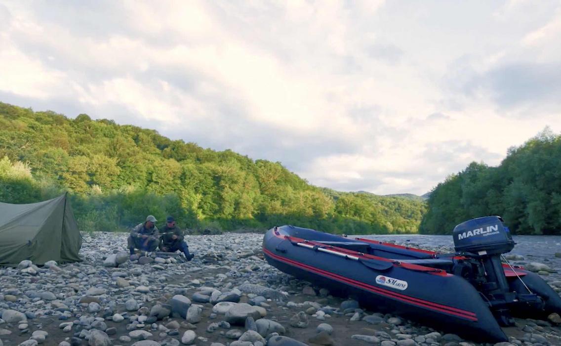Презентация лодки Strong компании Marlin Motors