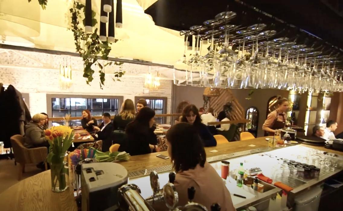 Отчетный ролик об открытии ресторана