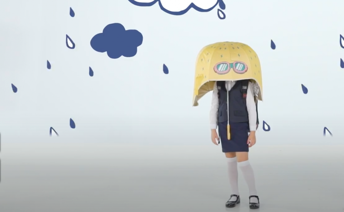 Рекламный ролик зонтов