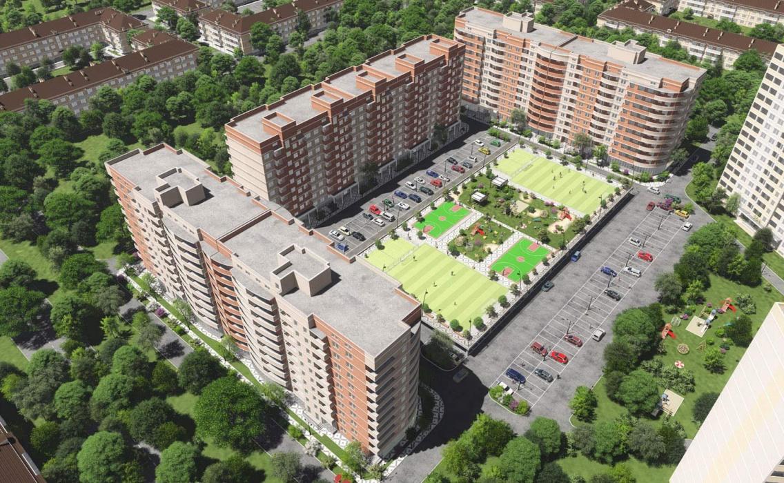 """Темпы строительства ЖК """"Инсити-Парк"""""""